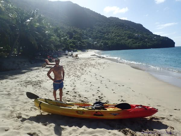 Bequia by kayak, the Grenadines