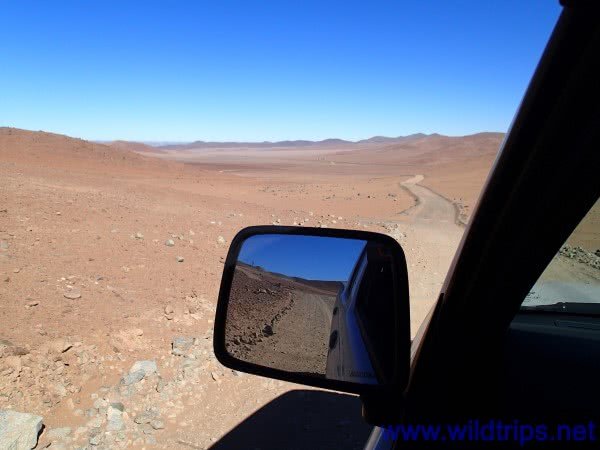 On the roads of Chile