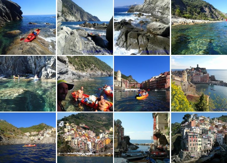 Foto Liguria in kayak