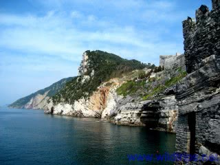 Portovenere in kayak