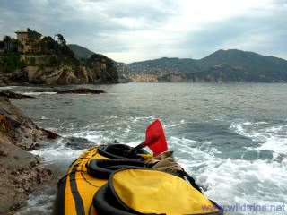 Kayak at Recco, Liguria