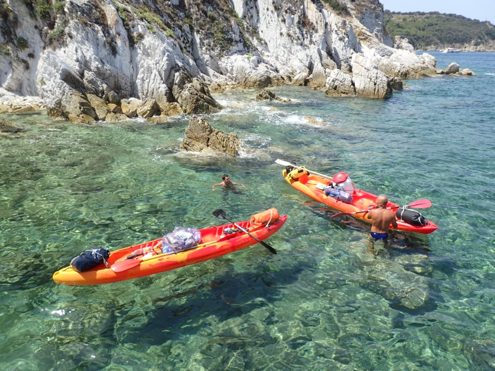 Elba in Kayak, Toscana