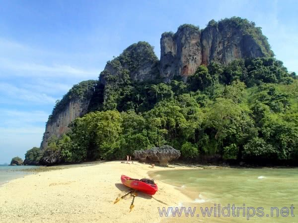 Phang Nga Bay by kayak, Thailand